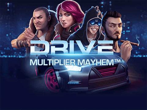Игровой слот Drive: Multiplier Mayhem